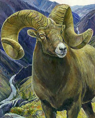 Salmon River Idaho Painting - Centenial by Steve Spencer