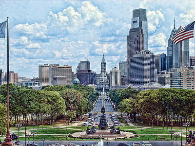 Center City Philly Print by Kevin  Sherf