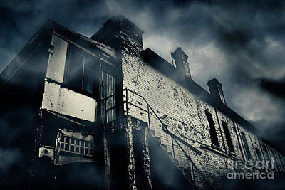 Central Hotel Of Horrors Print by Jorgo Photography - Wall Art Gallery