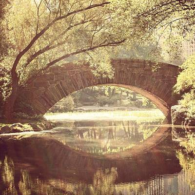 Photograph - Central Park by Crystal Magee
