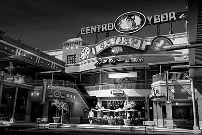 Brick Street Photograph - Centro Ybor by Marvin Spates