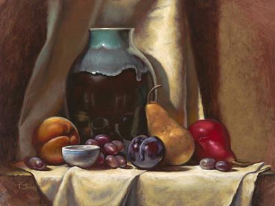 Ceramic And Fruit Original by Timothy Jones