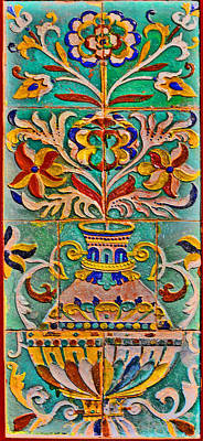 Ceramic Panel. Original by Andy Za