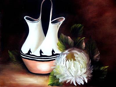Still Life Painting - Ceremonial Vase by Joni McPherson
