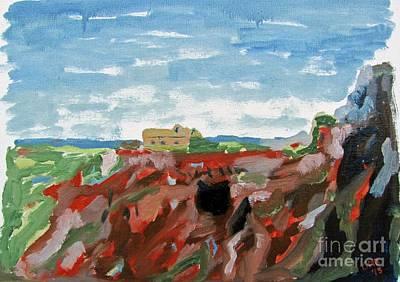 Cerro Del Hierro Print by Greg Mason Burns