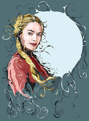 Lannister Digital Art - Cersei Lannister by Jason Longstreet