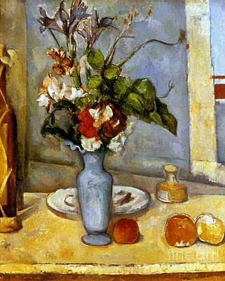 Impressionist Photograph - Cezanne: Blue Vase, 1885-87 by Granger
