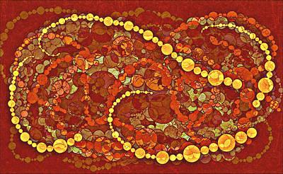 Chain Reaction Print by Aurora Art