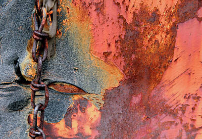 Chained Print by Doug Hockman Photography