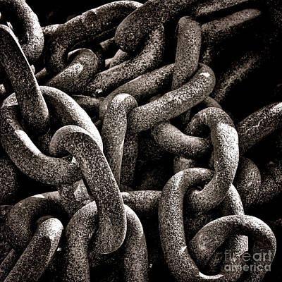 Chained  Print by Olivier Le Queinec