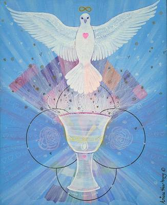 Chalice Mixed Media - Chalice Of Light by Ariana Heartsong