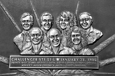 Challenger Crew Print by David Lee Thompson