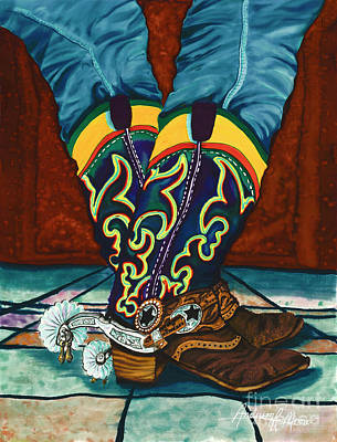 Painting - Chances Spurs by Anderson R Moore