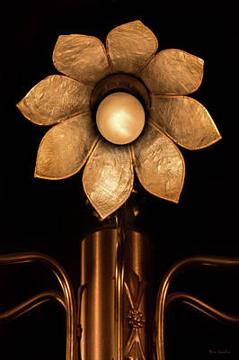 Chandelier Flower Print by Wim Lanclus