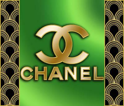 Digital Art - Chanel - Chuck Staley by Chuck Staley