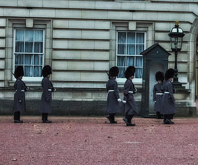 Buckingham Palace Photograph - Changing Of The Guard by Martin Newman