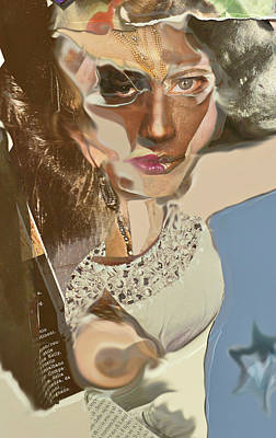 Grace Kelly Digital Art - Channeling Grace by Denise Adler