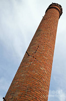 Chimney Photograph - Chaos In Ultra Slow-motion by Angelo DeVal