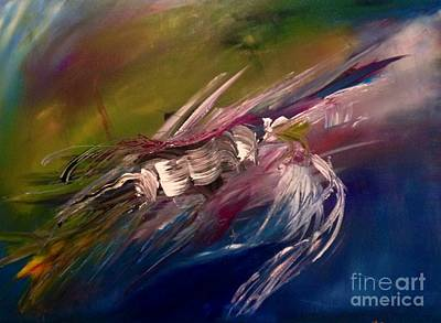 Passionate Painting - Chaos by Maria Isabel Storniolo