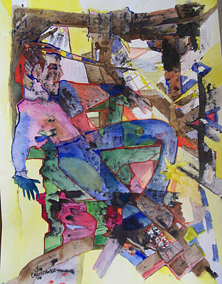 Modesto Painting - Chaos Of My Room by James Christiansen