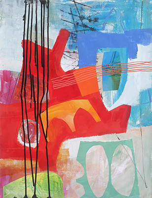 Abstract Painting - Chaos Theory#1 by Jane Davies