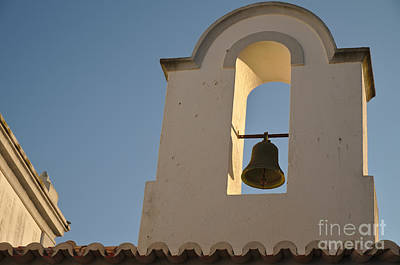 Chapel Bell In Albufeira Print by Angelo DeVal