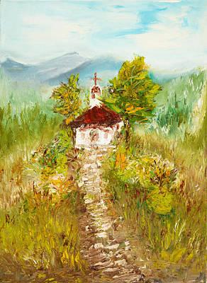 Chapel Print by Boyan Dimitrov