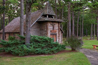 Chapel In The Woods Print by Steve Stuller