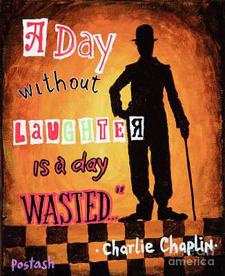 Chaplin Print by Igor Postash
