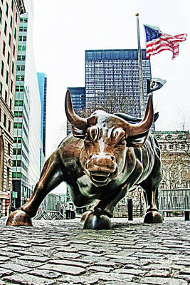 Nyse Photograph - Charging Bull 3 by Nishanth Gopinathan