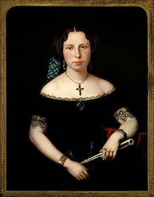 Eliza Painting - Charles Christian by Portrait of Eliza Jane Steen Johnson