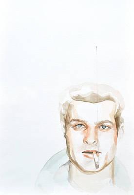 Serial Killer Drawing - Charles S. by Addie Price