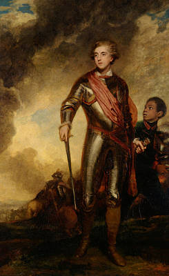 18th Century Painting - Charles Stanhope by Joshua Reynolds