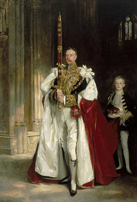 Portrait Painter Painting - Charles Stewart Sixth Marquess Of Londonderry by John Singer Sargent