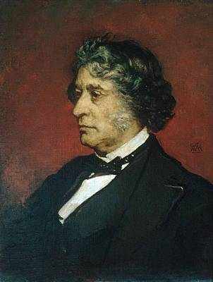 William Morris Hunt Painting - Charles Sumner by William Morris Hunt