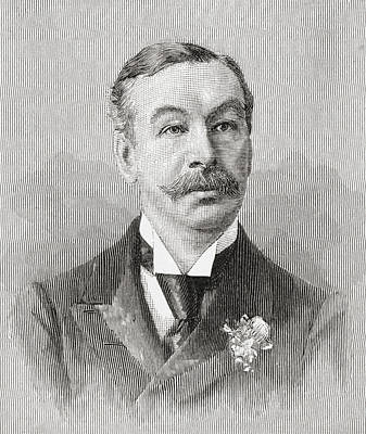 Ritchie Drawing - Charles Thomson Ritchie, 1st Baron by Vintage Design Pics