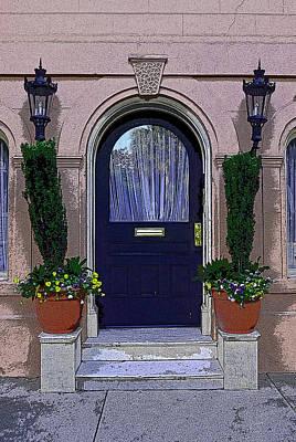 Friendly Digital Art - Charleston Doors  3 by Allen Beatty