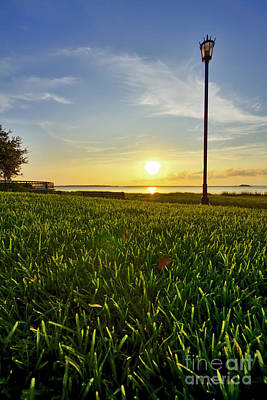 Charleston Waterfront Park Sunrise 3 Original by Dustin K Ryan
