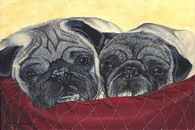 Charley And Ernie Original by Twyla Francois