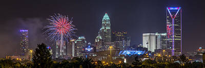 Charlotte Nc Photograph - Charlotte Celebration by Brian Young