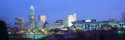 Charlotte Nc Photograph - Charlotte Nc by Panoramic Images