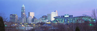 Charlotte Nc Photograph - Charlotte North Carolina Usa by Panoramic Images