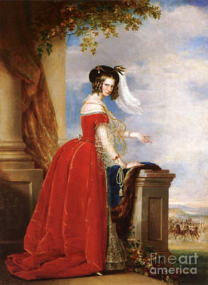 Charlotte Of Prussia Print by Celestial Images