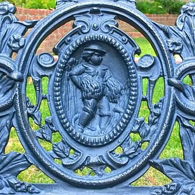 Garden Photograph - Charming Lovely #decorative #iron by Shari Warren