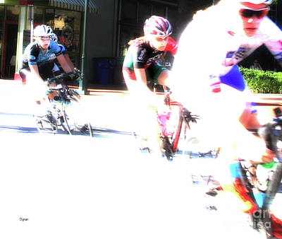 Bicycling Photograph - Chasing Colors  by Steven Digman