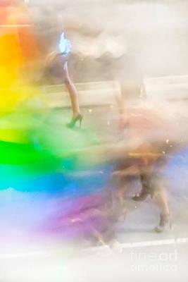 Mardi Gras Photograph - Chasing The Rainbow by Az Jackson