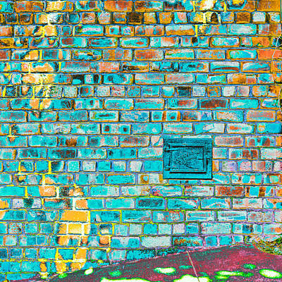 Brick Photograph - Chasing The Sun by Lee Harland