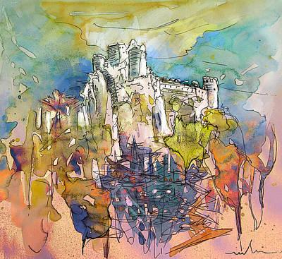 Chateau Cathare De Puylaurens 01 - France Print by Miki De Goodaboom