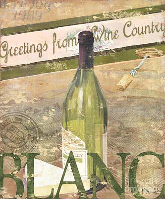 Chateau Chardonnay Print by Paul Brent