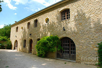 Europe Provence Aix-en-provence Photograph - Chateau La Canorgue Winery France by Just Eclectic